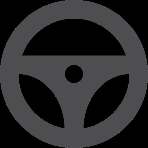 steering, wheel icon