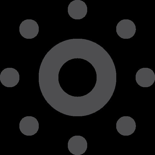 stroke, sun icon