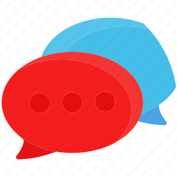 chat, communication, connection, email, message, network icon