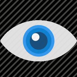explore, eye, search, view, vision icon