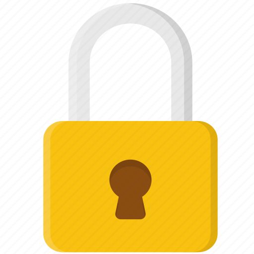 lock, locked, protection, security, shield icon