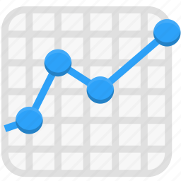 analytics, business, finance, statistics icon