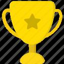 trophy, medal, achievement, award