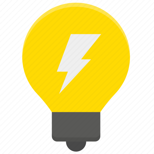 bulb, charge, electricity, energy icon