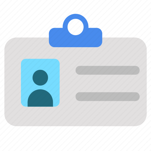 icard, identity, profile, user icon