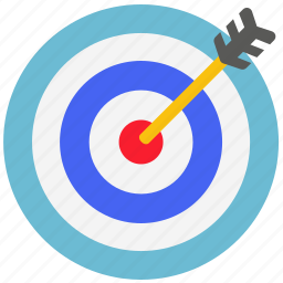 business, ecommerce, financial, target icon