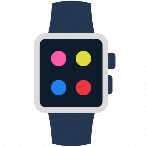 apple, device, technology, time, watch icon