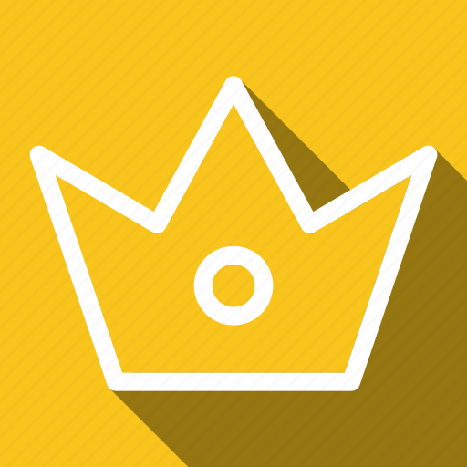 best, crown, king, long shadow, royality icon