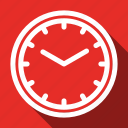 long shadow, management, time icon