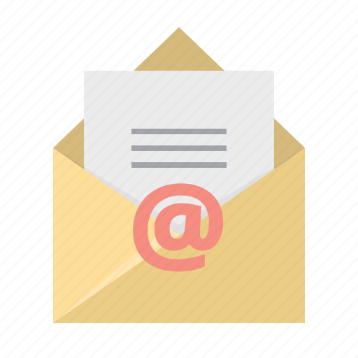 document, email, envelope, letter, mail, post, text icon