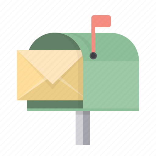 box, email, envelope, letter, mail, mailbox, post icon