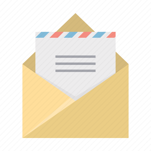 communication, document, email, envelope, file, letter, mail icon