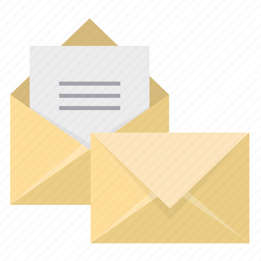 closed, email, envelope, inbox, letter, mail, open icon