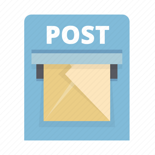 box, email, envelope, letter, mail, post, send icon
