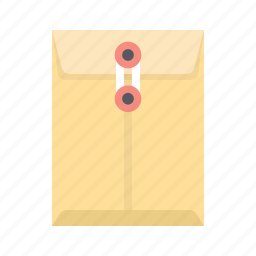 document, email, envelope, letter, mail, post, sealed icon