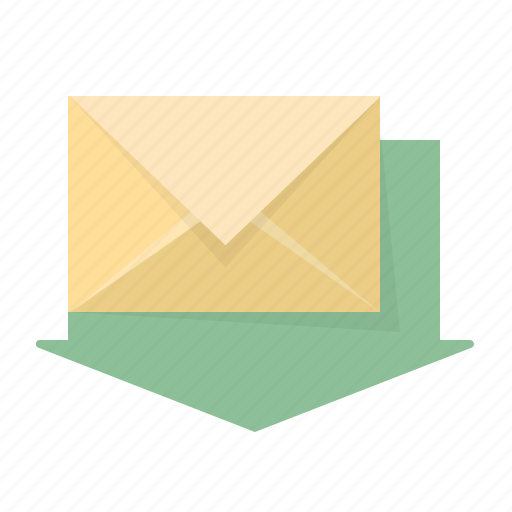 email, envelope, inbox, incoming, letter, mail, new icon