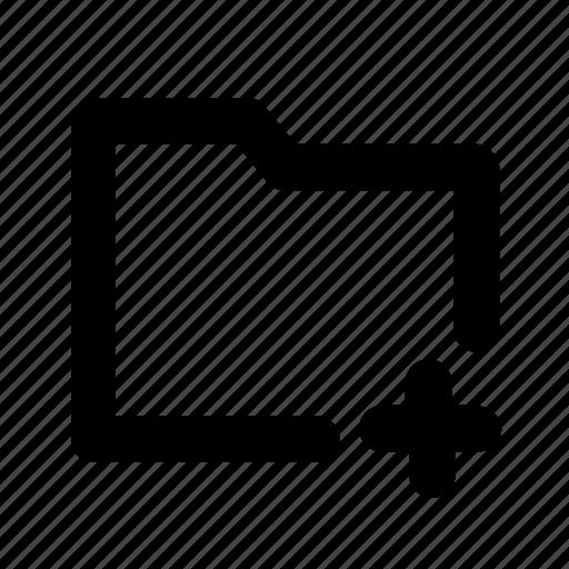 add, document, folder, ui icon
