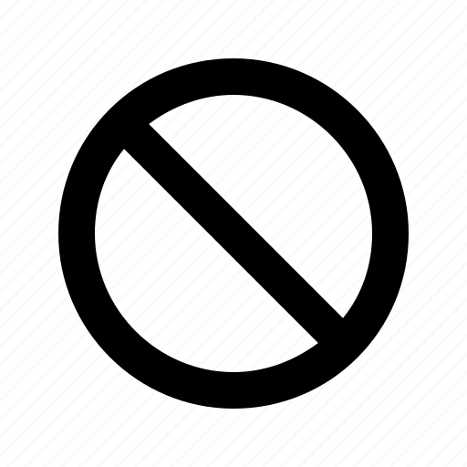 Ban, banned, sign, ui icon - Download on Iconfinder