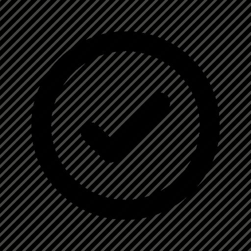 checklist, chek, confirm, mark, success, tick, ui icon