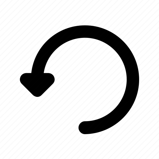 arrow, back, turn, ui, undo icon