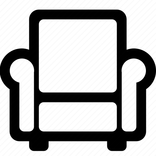 chair, couch, furniture, interior, relax, rest, sofa icon