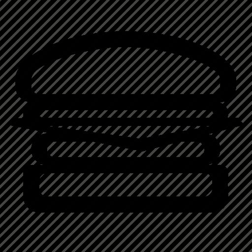 burger, fast food, feed, food, hamburger, meal icon