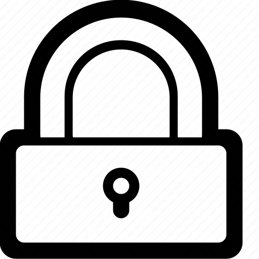 closed, key, lock, locked, protect, secure, secured icon