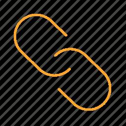 catenation, interlinkage, link, superlink, 链接 icon