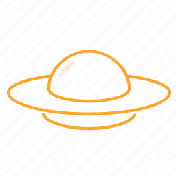 flying, flying disk, flying saucer, frisbee, ufo, 飞碟 icon