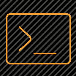 data, dos, promt icon