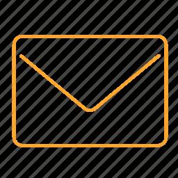 e-mail, mail, post, work, 邮件 icon