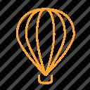 air, balloon, express, fire balloon, hot, sky, 气球