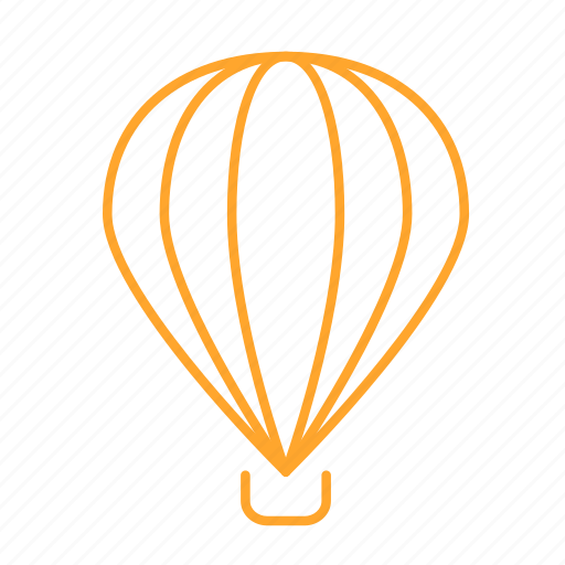 air, balloon, express, fire balloon, hot, sky, 气球 icon