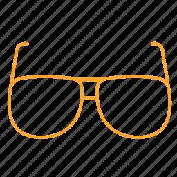 eye, eyeglass, eyewear, glass, glasses, spectacles, 眼镜 icon