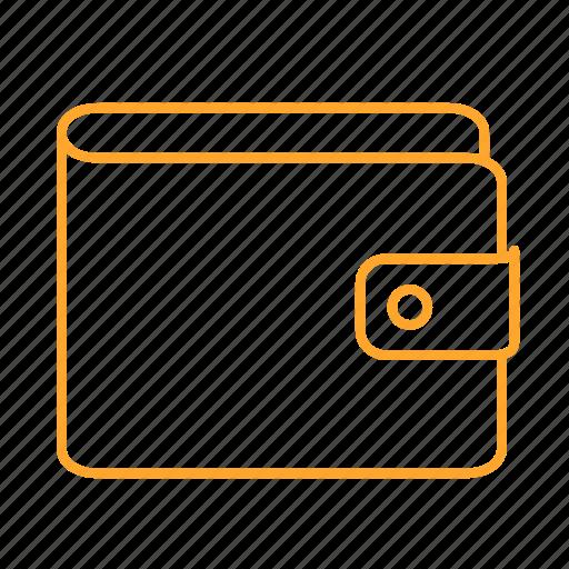 cash, cost, money, pouch, rich, wallet, wallets, 钱包 icon