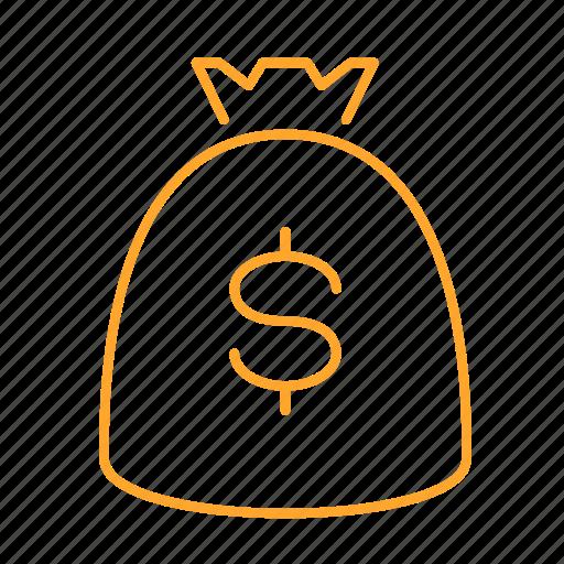 cash, cost, money, rich, 钱 icon