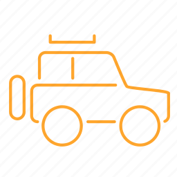 auto, car, jeep, off road, suv, 汽车 icon