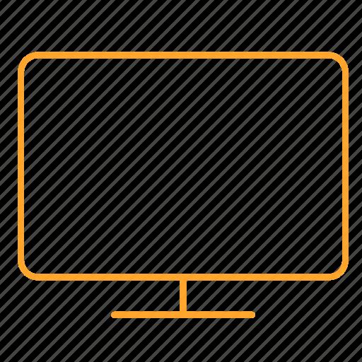 computer, display, tv, 显示器 icon