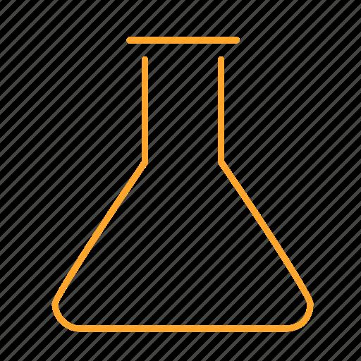 beaker, chemistry, flask, learning, study, 化学 icon