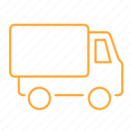 auto, car, freight car, truck, wagon, 车 icon
