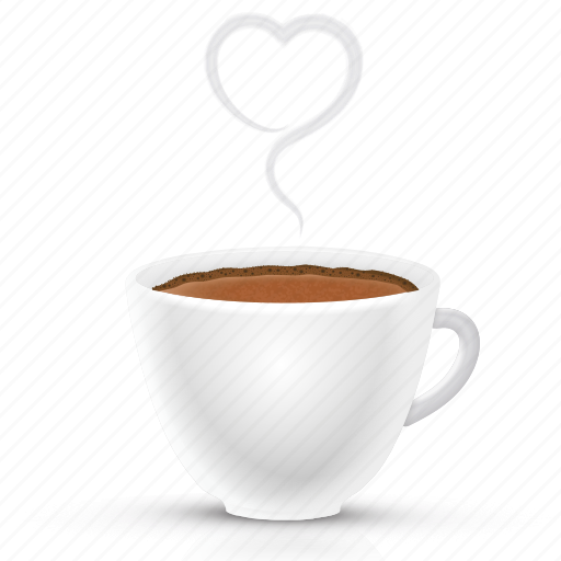 coffee, couple, cup, drink, love, romantic, valentine icon