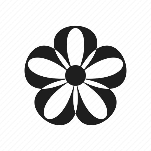 creative, floral, flower, nature, petal, plant, shape, sign icon