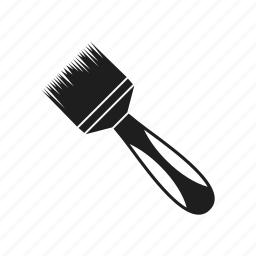 brush, instrument, tool, work, worker icon