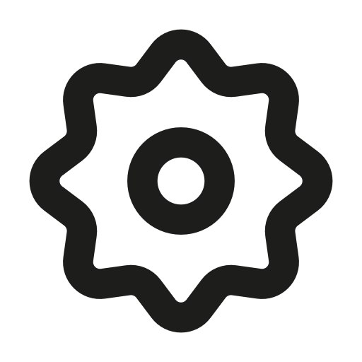 circle, mechanism, outline, settings icon