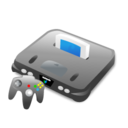 64, computer game, console, game, n, n64, nintendo, ps, xbox icon