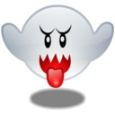 boo, ghost, mario icon