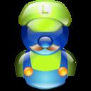 luigui, mario icon