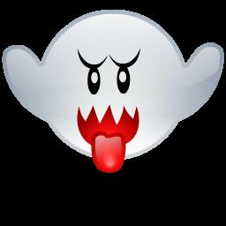 boo, ghost, mario icon
