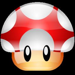 mario, toad icon