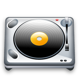 dj, music, turnable icon